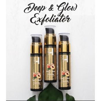 HERV Premium Combo Pack (Brightening Oil Cleanser + Deep & Glow Exfoliator)