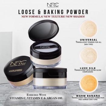 Loose & Baking Translucent Powder