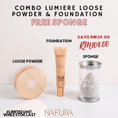 Combo Lumiere Loose Powder + Foundation