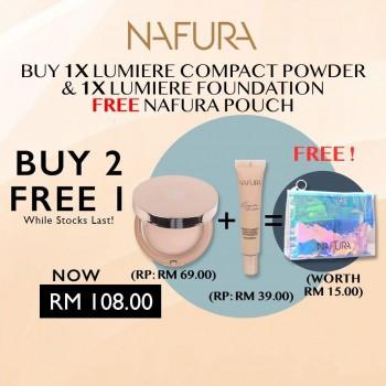 Nafura Lumiere Series (Compact powder + Foundation)