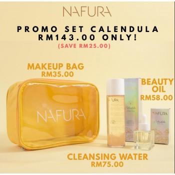 Combo Calendula Beauty Oil + Cleansing Water