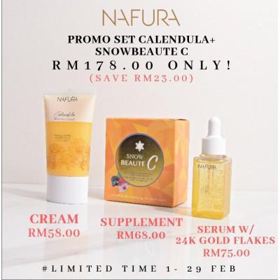 Promo Set Calendula + Snowbeaute C