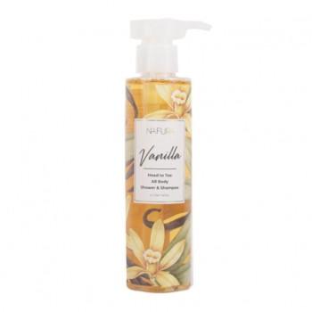 Nafura Shower & Shampoo - Vanilla