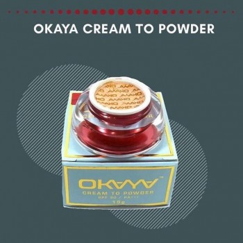 Okaya Cream to Powder